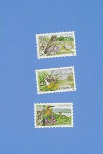 "UNGARN  2001 - postfrisch**MNH - Mi.-Nr. 4659-4661  ""Nationalpark: Vögel"""