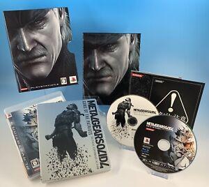 PS3 Metal Gear Solid Guns Patriots Box Konami Action Battle PlayStation3