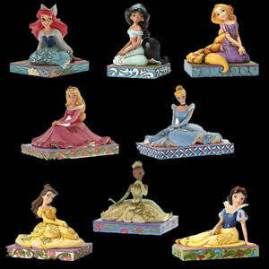Full Range of Disney Traditions Princess Personality Pose Figurines By Jim Shore