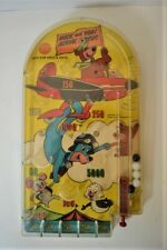 1965 HUCK AND YOGI AERIAL CIRCUS Pinball Game Lido Toys