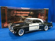 SIGNATURE 1:18 - POLICE - CHRYSLER - IMPERIAL COUPE SHERIFF ORANGE COUNTY  1955