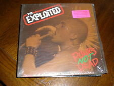 The Exploited LP Punks Not Dead LIMITED