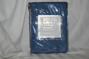 Westport Home- 1000TC One Pair of Standard Pillowcases Navy NIP