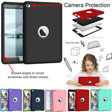 Heavy Duty Kids Hybrid Rubber ShockProof Case Cover for iPad Mini 4 5 2019 Air