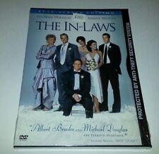 "The In-Laws (DVD, 2003) MICHAEL DOUGLAS  ALBERT BROOKS  ""NEW""  FUNNY!!"