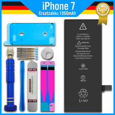 Ersatz Akku für Original Apple iPhone 7 Batterie + Werkzeug + Rahmen Kleber