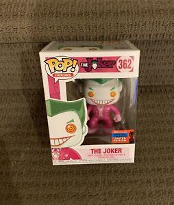 DC The Joker (pink) NYCC 2020 FUNKO POP VINYL FIGURE *NEW* +PROTECTOR