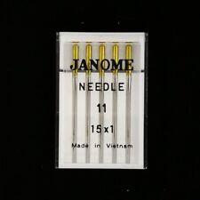 Genuine Janome Needles, Sharp #11