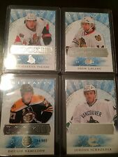 2012-13 UD ARTIFACTS RC /699 ROOKIE REDEMPTION LOT (4) CARDS