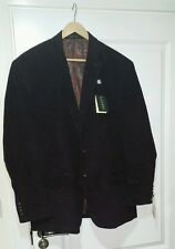 Ralph LAUREN MEN'S in Velluto a Coste Blazer Cappotto Giacca, 48r.