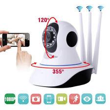 HD 1080P Cámara de Vigilancia CCTV WiFi Hogar Bebé Mascota con Micrófono Altavoz