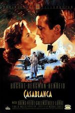 Casablanca (1942) original video poster reissue 1992 50th ann - s-sided - rolled