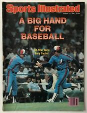 GARY CARTER August 17, 1981 Sports Illustrated Magazine  -  NO LABEL