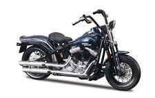 Maisto Harley-Davidson 2008 FLSTSB Cross Bones (Blu) Modello in scala 1:18 MOTO