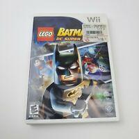 LEGO Batman 2: DC Super Heroes (Nintendo Wii Game) **NO Manual** TESTED