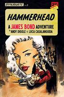 HAMMERHEAD #1 A JAMES BOND ADVENTURE DYNAMITE CBLDF Variant Cover