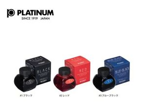 Platinum fountain pen Bottle Ink 60cc Choose from 3 colors  INK-1200