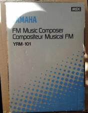 YAMAHA YRM-101 FM MUSIC COMPOSER CARTRIDGE CX5M MSX MIDI SYNTHESIZER