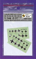 Mark I Decals 1/144 Luftwaffe/German Crosses (Balkenkreuz) Early Type (2 Sets) #