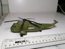 DINKY TOYS -  Sea King ARMY Helicopter - Good Cond