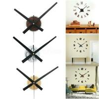 Large Wood Wall Clock Quartz Movement Mechanism Hands DIY Kit Repair Part Tool