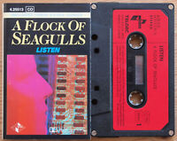 A FLOCK OF SEAGULLS - LISTEN (JIVE 425513) 1983 GERMANY CASSETTE BONUS TRACKS