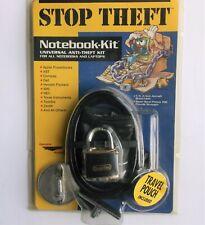 CURTIS 06501 Qualtec NOTEBOOK Security Laptop Cable Lock Kit SEALED Apple IBM