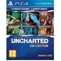 Uncharted The Nathan Drake Collection for PS4 MINT UK - 1st Class Delivery
