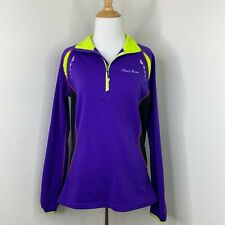 Pearl Izumi Select Shirt Size L Cycling 1/4 Zip Pullover Long Sleeve Jersey Fit