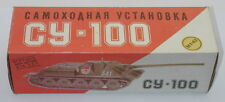 DTE 1:43 RUSSIAN COLLECTOR SERIES PLASTIC CY-100 MILITARY ARMY TANK NIOB R4126