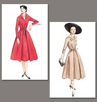 50s fifties style dress SEWING PATTERN, Vintage Vogue 2401 size 6-22 retro 1950