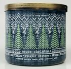 1 Bath  Body Works MERRY CHRISTMAS SWEATER WEATHER 3-Wick Candle Large