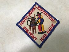 1958 South Jersey Philmont Contingent Patch