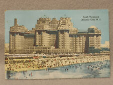 Hotel Traymore  Atlantic City NJ.  Vintage Post Card. With Stamp.
