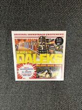 Dr. Who & The Daleks 2x Yellow Vinyl LP Numbered New Sealed Mint