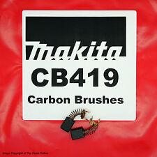 Makita CB419 Carbon Brushes BO4555 BO4556 BO4900 BO4900V BO5001 BO5030 BO5031