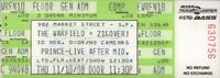 PRINCE 1988 LOVESEXY TOUR UNUSED WARFIELD THEATRE CONCERT TICKET / NMT 2 MINT