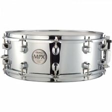 """Mapex 14"""" Chrome Steel Shell Snare Drum MPST4550"""
