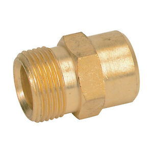 """M22 X 1/2"""" Outlet Adaptor To Attach Karcher Hose To Nilfisk Alto Pressure Washer"""