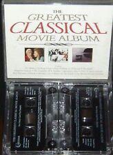 GREATEST CLASSICAL MOVIE ALBUM 2X CASSETTE