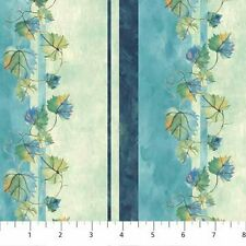 Northcott Heard It On The Grapevine by Sue Beevers 4640 68 Cotton Fabric