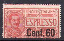 1922 REGNO ESPRESSO 60 CENTESIMI SU 50 INTEGRO C/3696