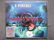 CD NEU X-Perience Island Of Dreams Original SIGNIERT signed MCD Synth-Pop Rarity