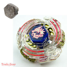 Lightning L-Drago BB-43 Fusion Masters Fight Beyblade+HEAVY METAL FACE BOLT MF