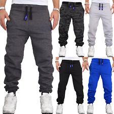 Herren Jogginghose Sweatpants Fitness Uni Einfarbig Sporthose Training Hose