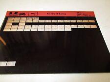 Kawasaki KH100 - B Series Parts List Micro Fiche