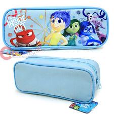 Disney Inside Out Zippered Pencil Case Pouch Bag - Blue
