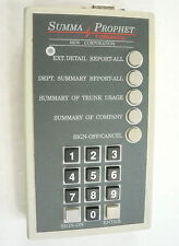 NEW OPEN PACKAGE SUMMA PROPHET Commercial Xiox Hotel Call Tracker X10X w/ AC