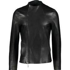 EMPORIO ARMANI 2016 Runway Reversible Blouson Leather Jacket -IT 48/UK 38 -£2400