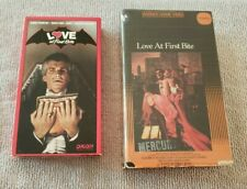 LOVE AT FIRST BITE  Betamax AND VHS  George Hamilton Dick Shawn Arte Johnson